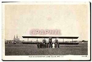 Carte Postale Ancienne Avion Aviation Avion de bombardement Liore Olivie