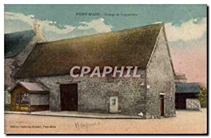 Carte Postale Ancienne Pontmain Grange de L'apparition