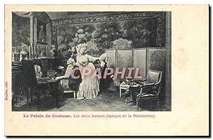 Carte Postale Ancienne Mode Le palais du