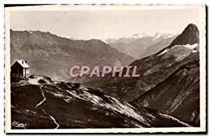 Carte Postale Ancienne Col d'Allos Le refuge