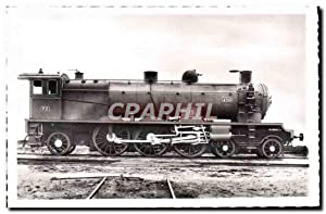 Carte Postale Ancienne Train Locomotive 4501