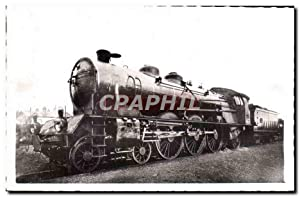 Carte Postale Ancienne Train Locomotive 6102 a 6171 PLM