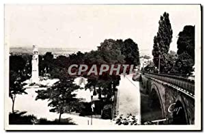 Carte Postale Moderne Laon Le funiculaire