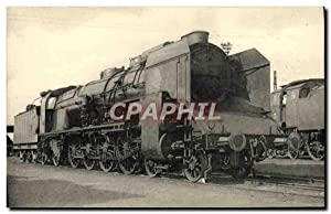 Carte Postale Ancienne Train Locomotive du Sud Est Machine 241 D 17
