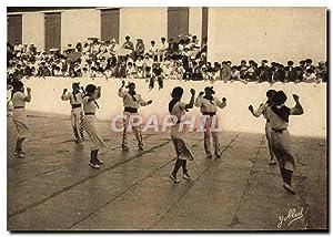 Carte Postale Ancienne Folklore Pays basque Danse