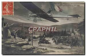 Carte Postale Ancienne Militaria Avion