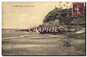 Carte Postale Ancienne Audresselles Pointe du Nex