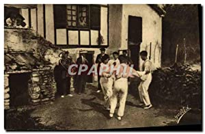 Carte Postale Ancienne Folklore Guethary Pays basque