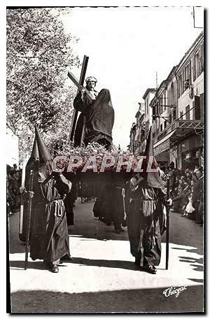 Carte Postale Moderne Perpignan Semaine sainte en