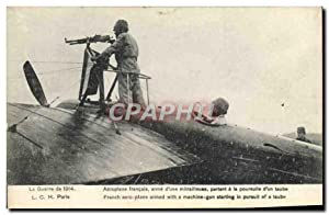 Carte Postale Ancienne Militaria Avion Aviation Aeroplane français