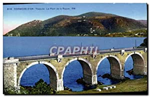 Carte Postale Ancienne Theoule Le pont de la RAgue