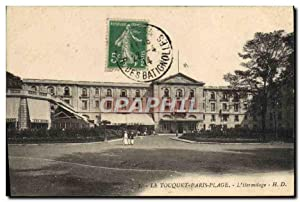 Carte Postale Ancienne Le Touquet Paris Plage L'Hermitage