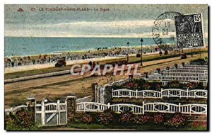 Carte Postale Ancienne Le Touquet Paris Plage La Digue