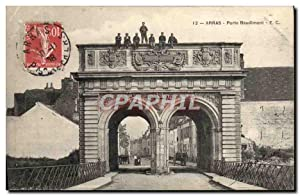 Carte Postale Ancienne Arras Porte Baudimont