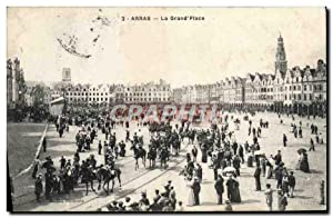 Carte Postale Ancienne Arras La Grand Place