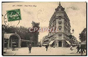 Carte Postale Ancienne Vichy Place Victor Hugo