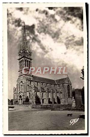Carte Postale Ancienne Saint Cast L'Eglise