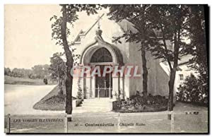 Carte Postale Ancienne Contrexeville Chapelle Russe Russie Russia
