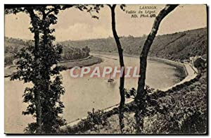 Carte Postale Ancienne Lannion Vallée Du Legue