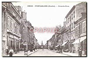 Reproduction Pontarlier Grande Rue