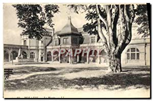 Carte Postale Ancienne Moulins Le Musee