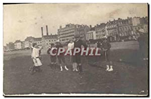CARTE PHOTO Croquet