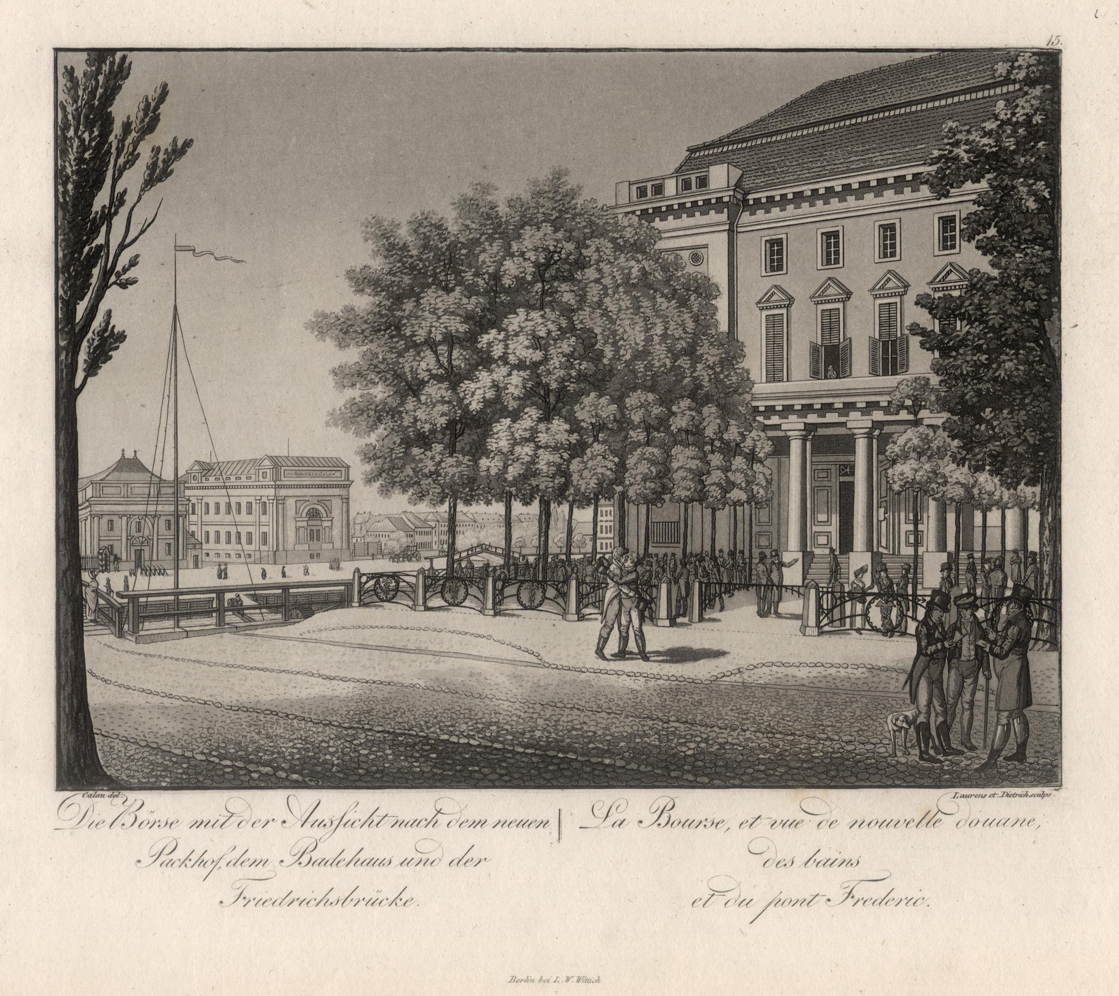 Die Alte Borse Von Berlin Zvab