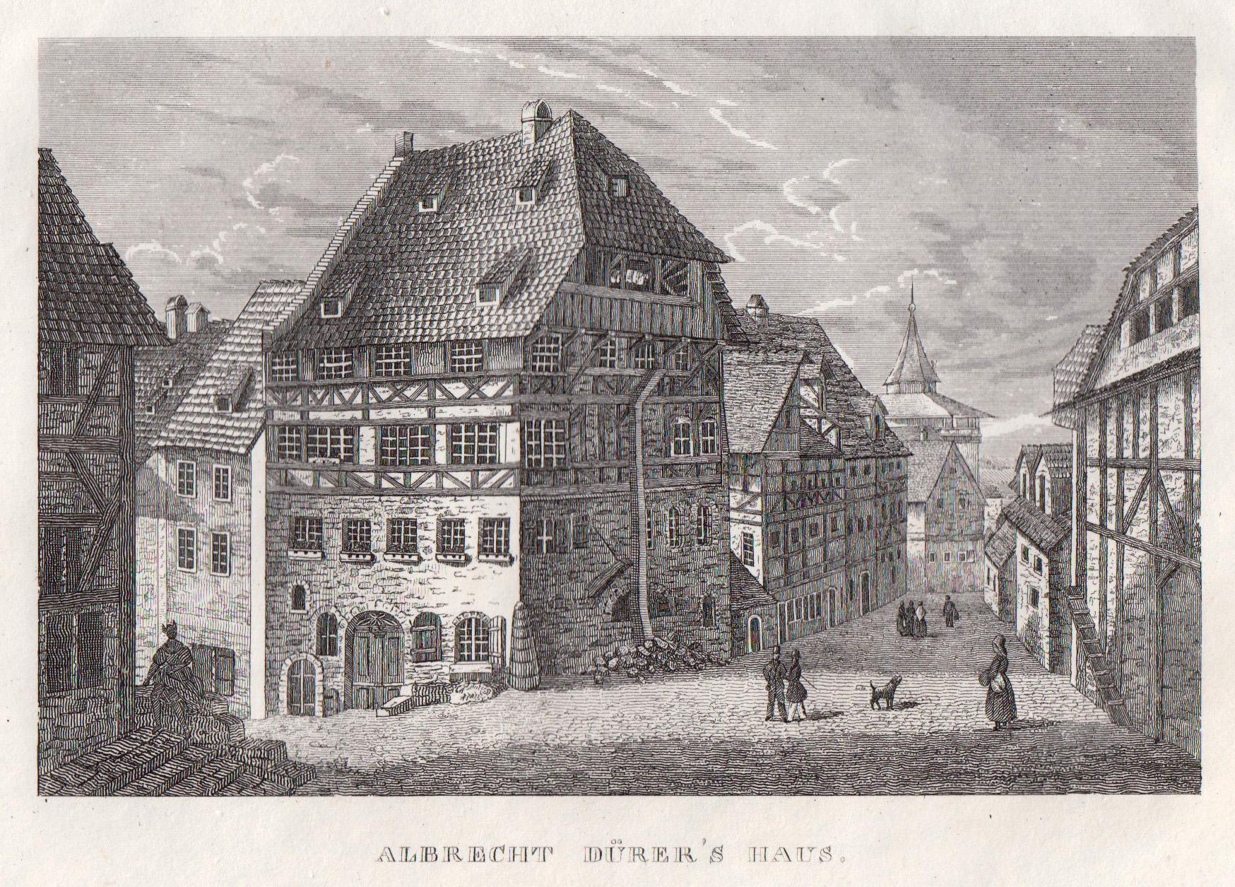 Teilansicht, Dürer Haus, \