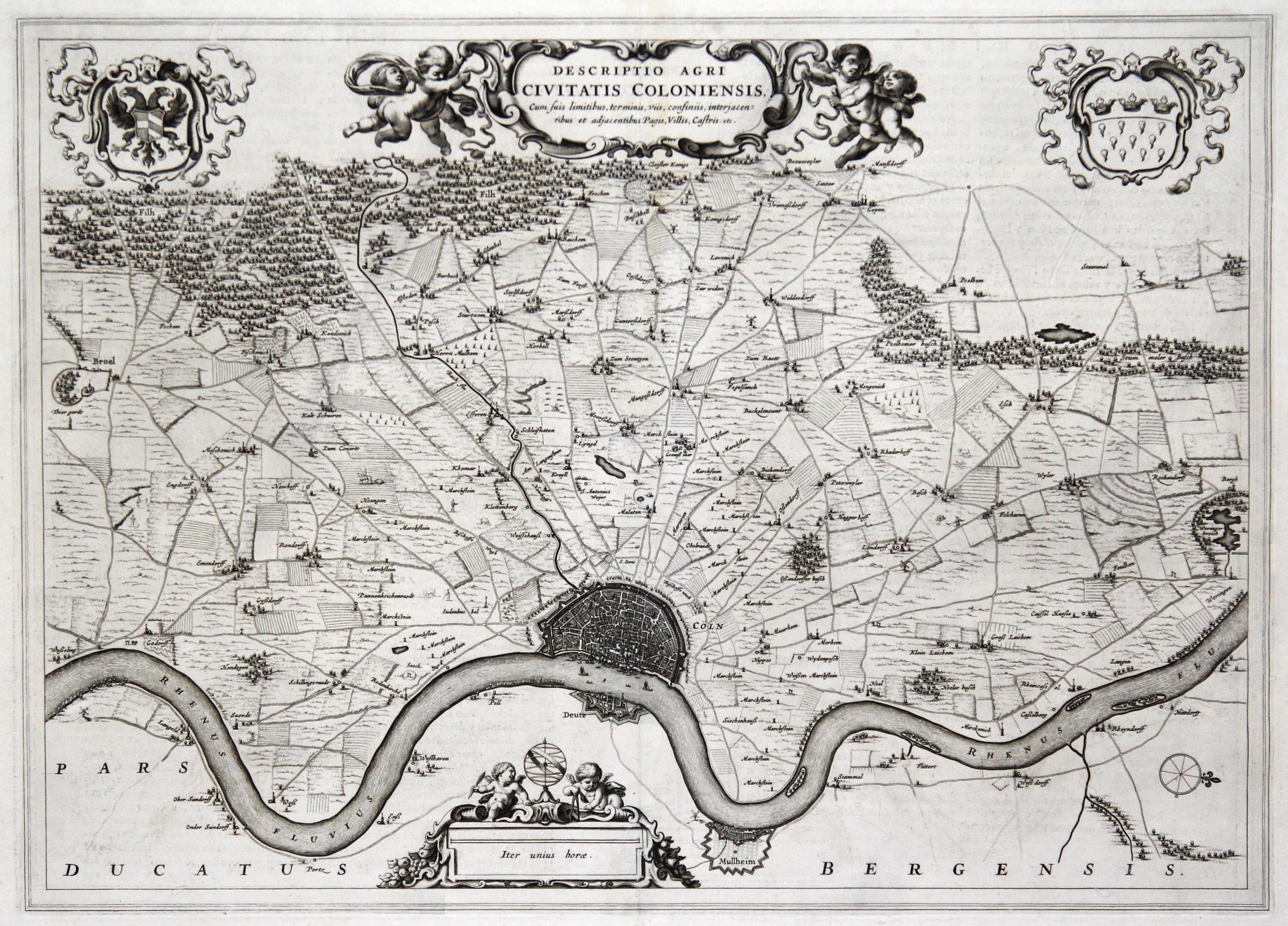 Vialibri Kst Karte Aus Dem Atlas Major Bei Blaeu Descriptio