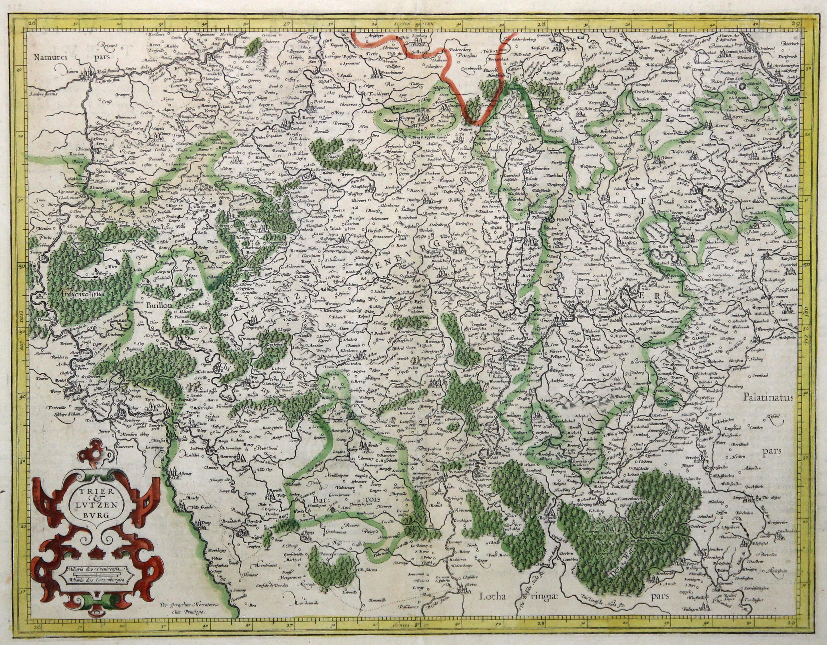 Bistum Trier Karte.Trier Luxemburg Zvab