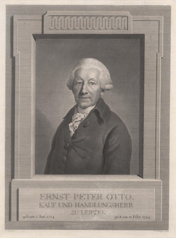 01. 06. 1724 - 18. 02. 1799).: OTTO, Ernst Peter