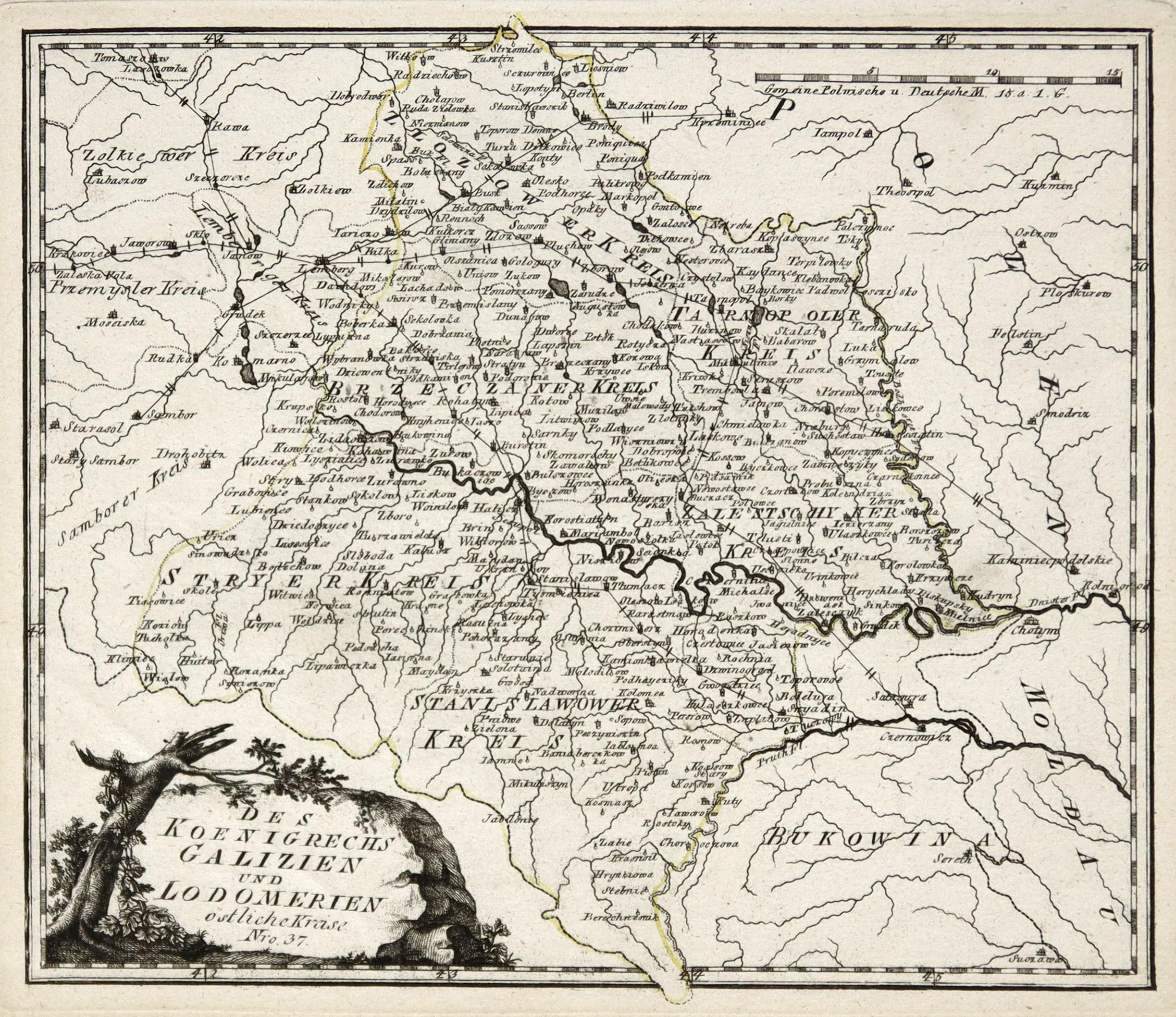 Galizien Karte.Galizien Karten Zvab