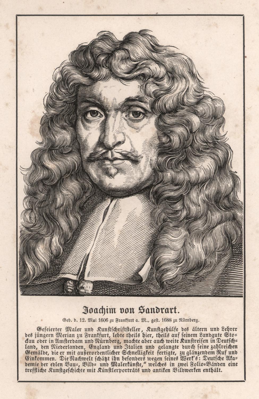 Joachim von Sandrart d.Ä. (Frankfurt/Main 12. 05.: SANDRART, Joachim von
