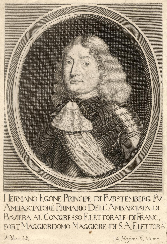 05. 11. 1627 - 10. 09. 1674),: FÜRSTENBERG-HEILIGENBERG, Hermann Egon