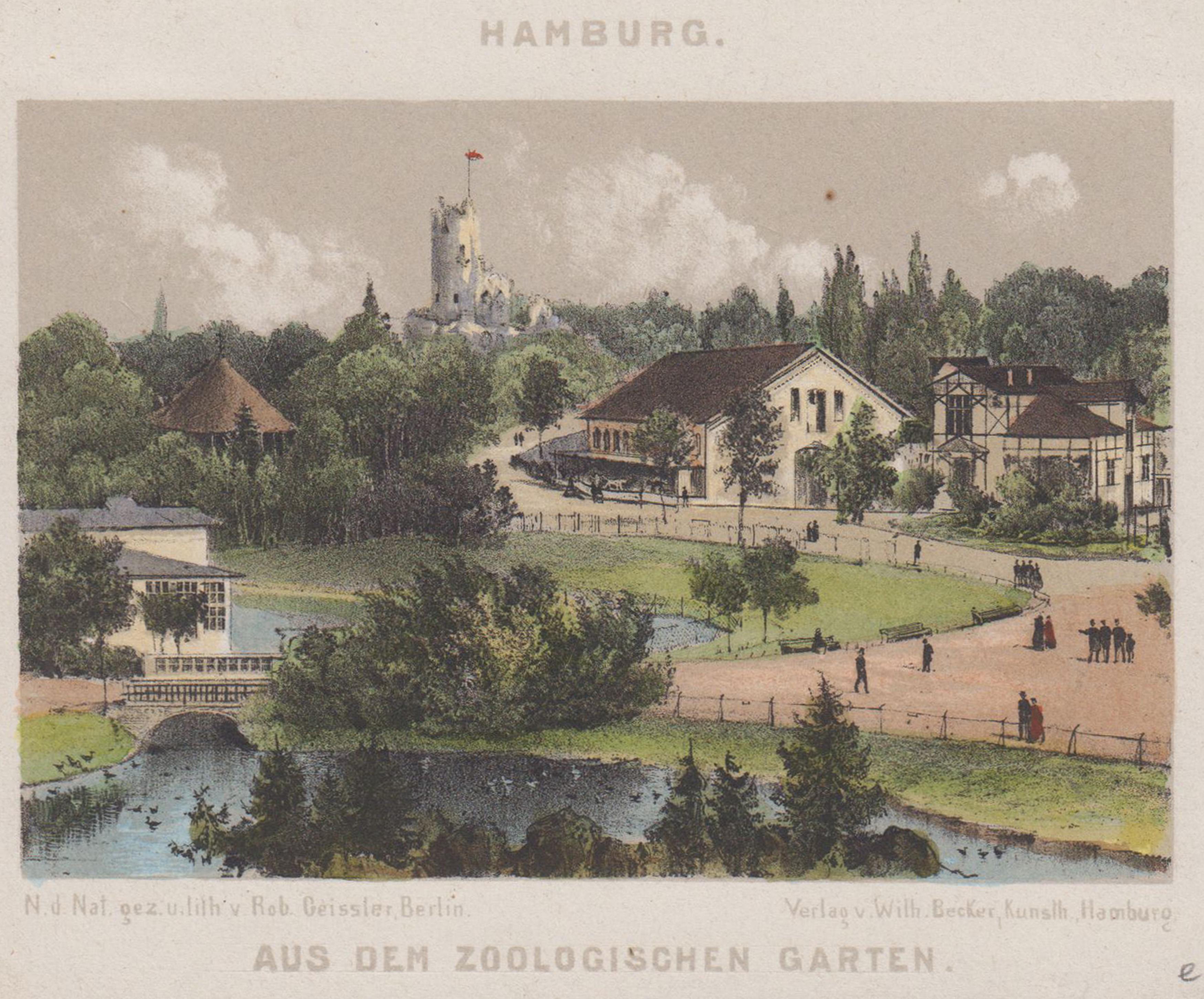 Etonnant Teilansicht, Zoologischer Garten, U0026#34;Aus Dem Zoologischen ...