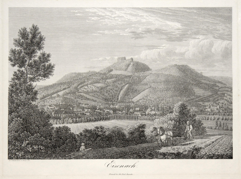 """Gesamtansicht., """"Eisenach"""".: EISENACH:"""