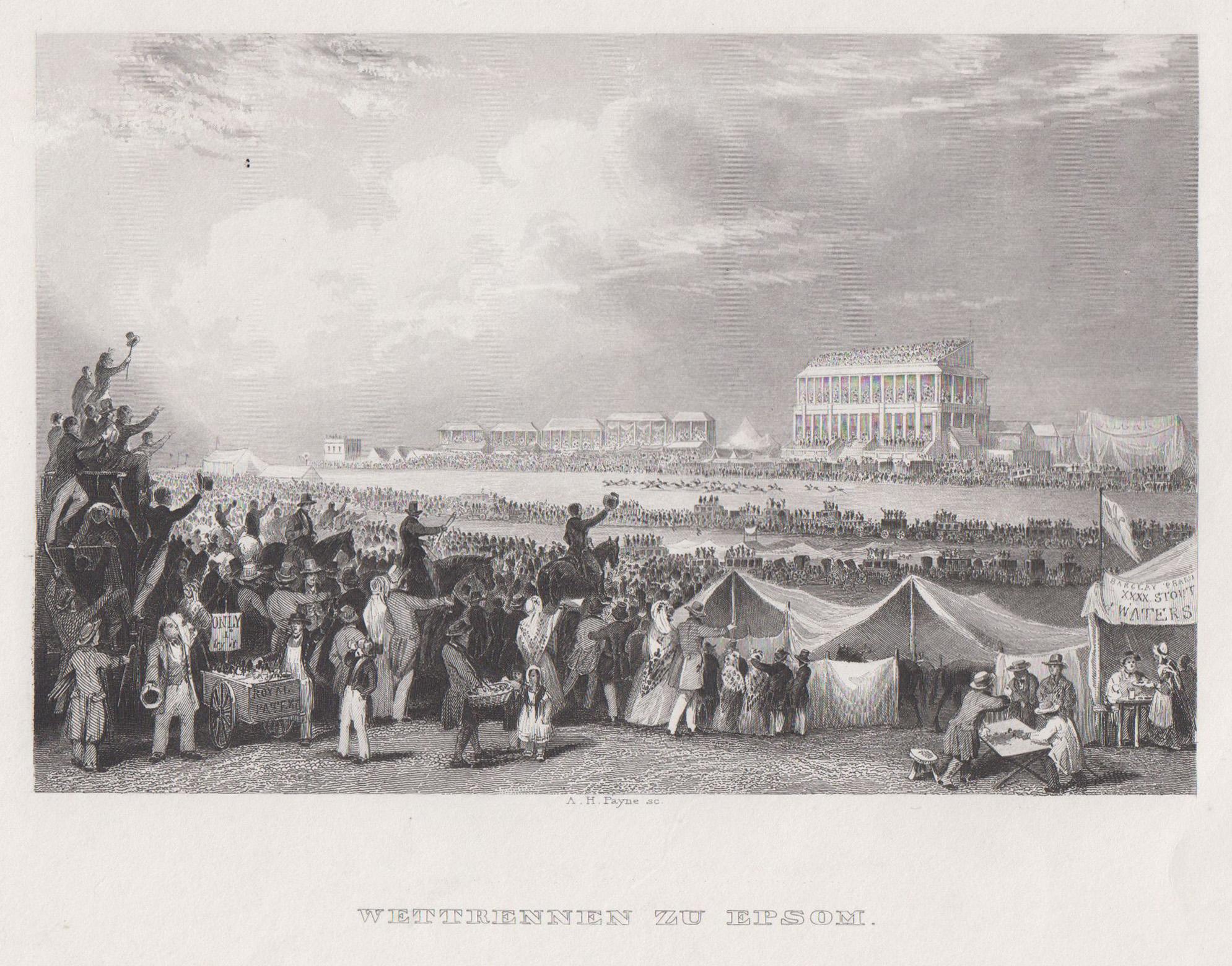 Pferderennbahn London