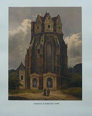 Pfarrkirche zu Neunkirchen. V.U.W.W.: GREFE, C.