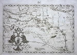 Provincia Austrice Viennensis cum confinys.: CASSINI und MOTECALERIO