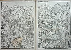 Contrafactur, wie der Türk Wien belagert, Anno 1529.: GULDENMUNDT, H. und A. Ritter von ...