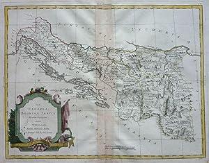 La Croazia, Bosnia, e Servia. Di nuova Projezione.: ZATTA, A.