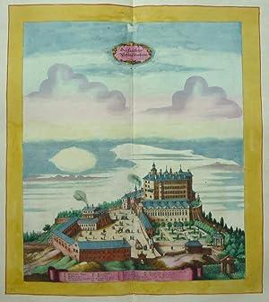 Das Fürstliche Schloss Umbras. [Ambras]: MERIAN, M. und Anna BEEK