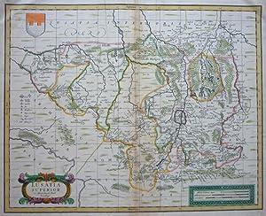 Lusatia superior Ex Officina Davids Funck Norimbergae [Oberlausitz]: FUNCK, D.