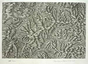 Perspectiv-Karte des Erzherzogthums Oesterreich unter der Enns. XLII. Section: Umgebung von Rohr im...