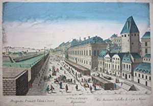 Prospectus Primarii Telonii Caesarei � Les Anciennes Gabelles de Cesar a Vienne. [Wien Hauptmaut, ...