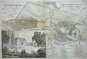 Schönau Freyherl. v. Braun'sches Landguth bey Baden.: VIEHBECK und J.A. KLEIN