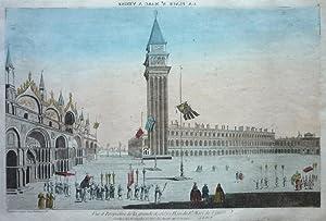 Vue et Perspective de la grande et celebre Place de St. Marc de Venise. [Venedig/Venezia]: ...