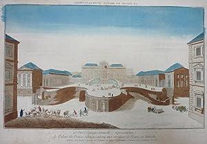 20e Vue d'Optique nouvelle, representanz le Palais du Prince Schwarzenberg aux environs de ...