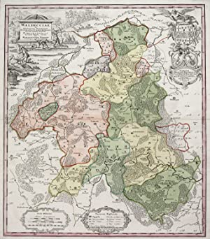 Episcopatvs Paderborn nec non Abbatiae Corvei Territorium seculare cum adjacentibus Comitatibus ...