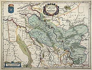 Le Cercle de Baviere subdivisé en touts les Estats qui le composent. Dressé sur les ...